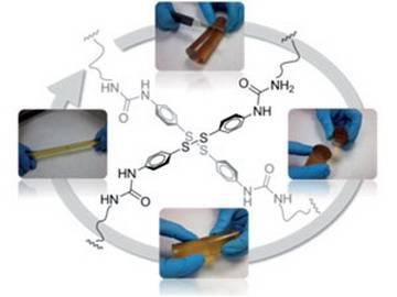 Новый уникальный полимер способен к самостоятельной регенерации (фото+видео)