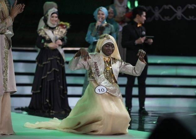 Конкурс на самую красивую мусульманку в мире (23 фото)