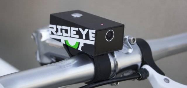 RIDEYE - чёрный ящик для велосипеда (4 фото+видео)