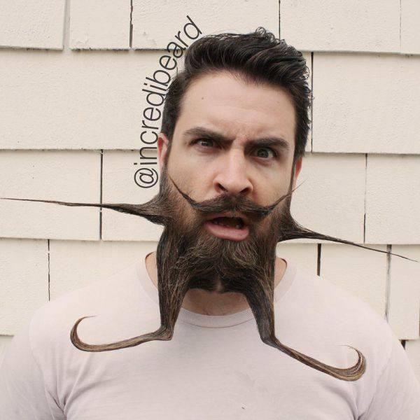 Исайя Уэбб и его борода (20 фото)