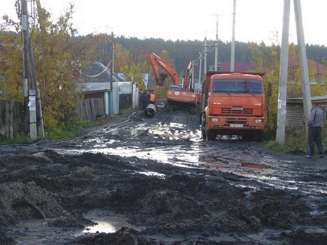 """Улица в Барнауле """"до и после"""" реконструкции (16 фото)"""