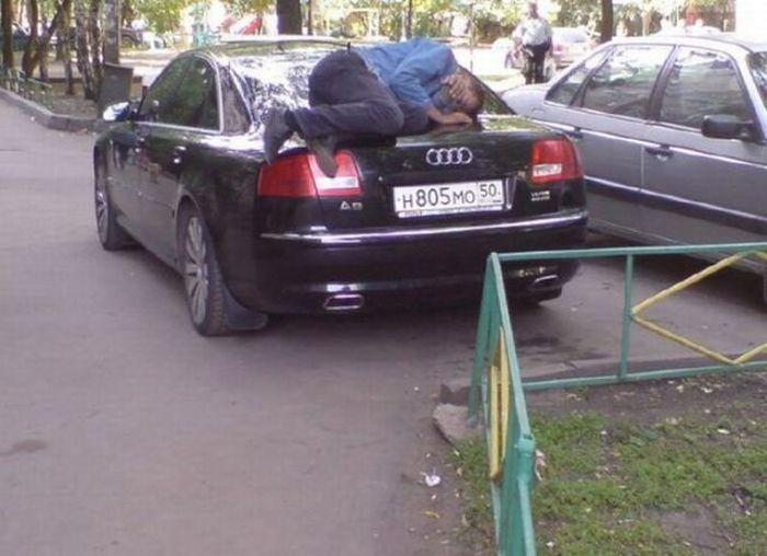 Такое возможно только в России (59 фото)