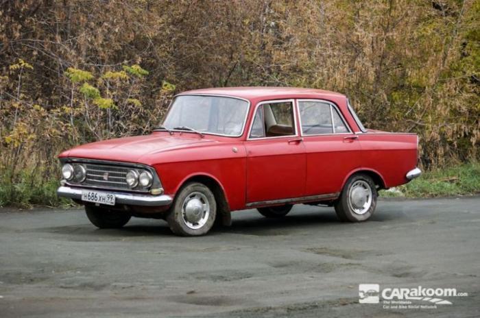 Легендарный автомобиль Москвич 408 Elite (33 фото)