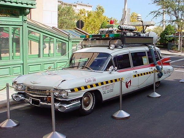 Спасти авто охотников за привидениями (5 фото)