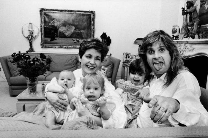 Яркие моменты из жизни Оззи Осборна (10 фото)