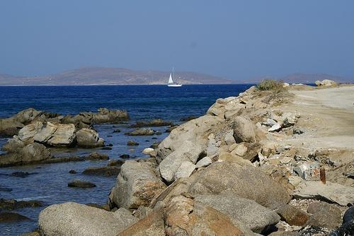 Маршрут путешественника по Миконос, Греция (6 фото)