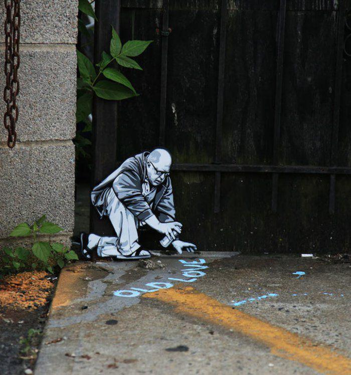 Маленькие миры уличного художника (13 фото)