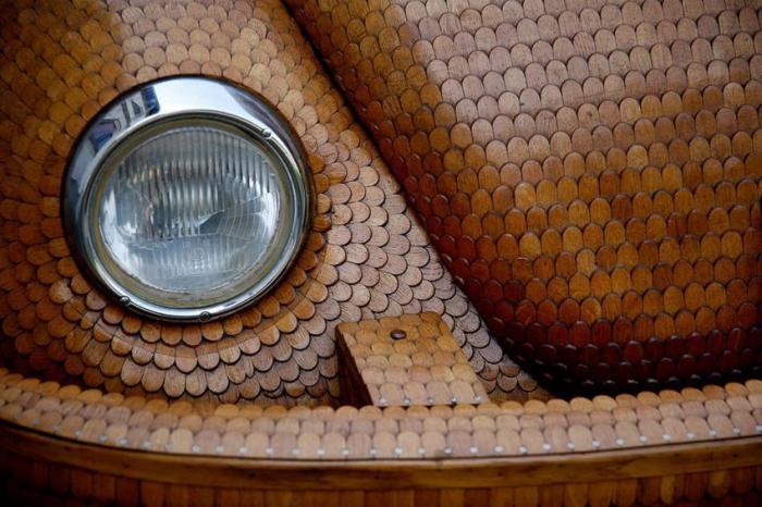 Деревянный Volkswagen Beetle (14 фото)
