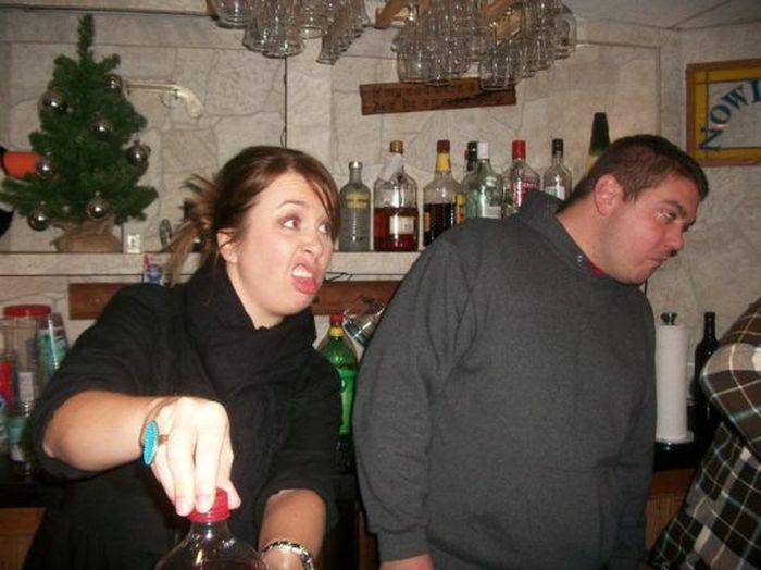 Смешные и странные выражения лиц (43 фото)
