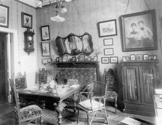 Интерьеры генеральских квартир царской России (31 фото)