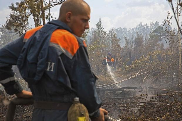 Как тушат пожары в Тверской области (15 фото)