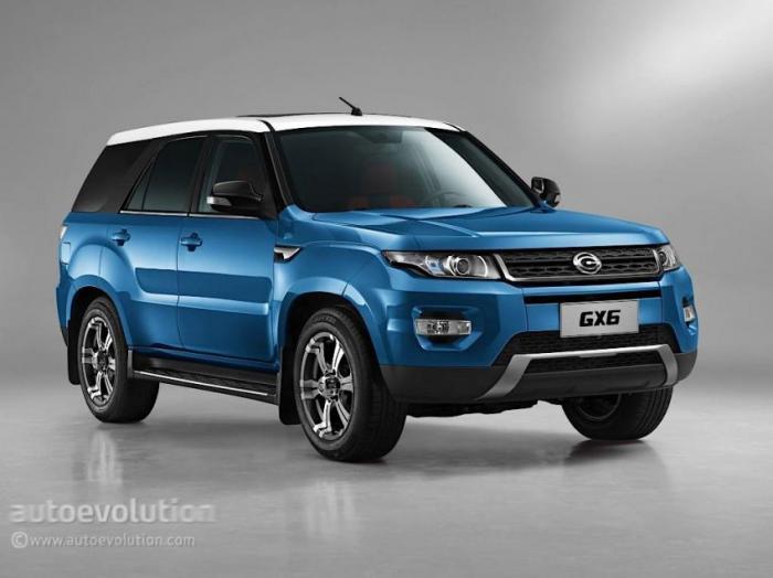 Китайский Range Rover (6 фото)