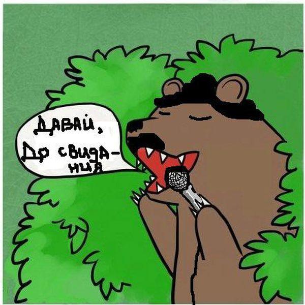 Медведь кусты шлюха демотиватор