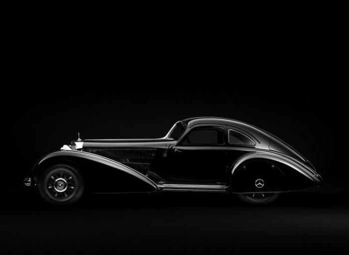 Красивые ретро автомобили (55 фото)