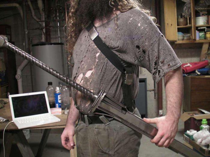 Холодное оружие из видеоигр и фильмов от кузнеца Майкла Ктулху (19 фото)