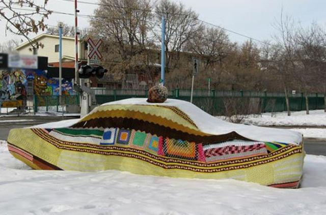 Забавные зимние фотографии (44 фото)
