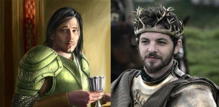 Сравнение актеров сериала «Игра престолов» (20 фото)