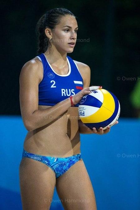 Дарья Рудых – чемпионка Европы по пляжному волейболу (24 фото)