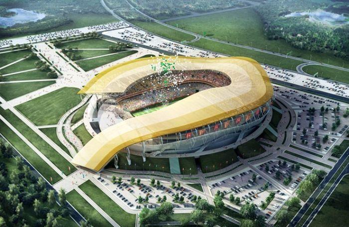 Стадионы для Чемпионата Мира по футболу 2018 года (8 фото)