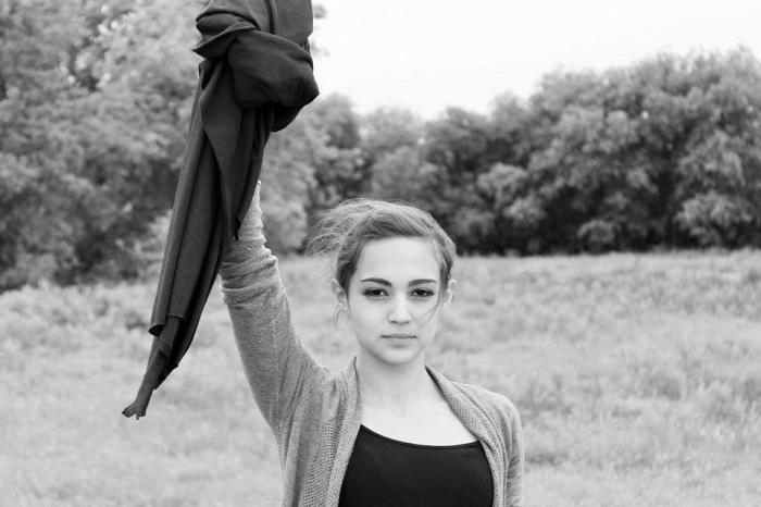 Массовый флешмоб мусульманок против хиджаба (23 фото)