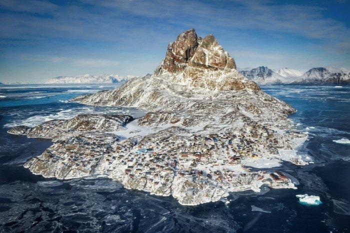 Прекрасный остров Уумманак (8 фото)