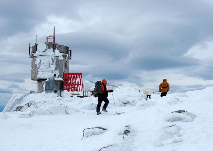 Гора Вашингтон – место с самой плохой погодой в мире (13 фото)