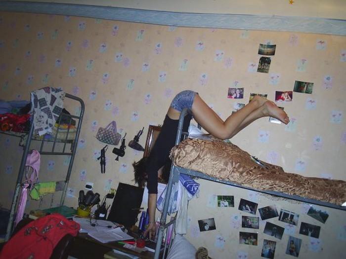 Типичные будни студенческого общежития (36 фото)