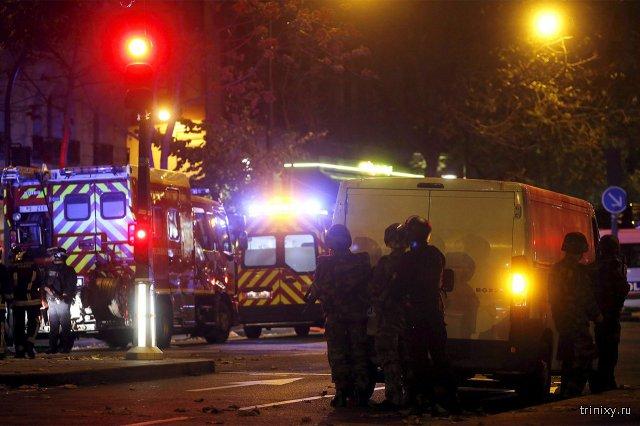 Теракты в Париже (10 фото)