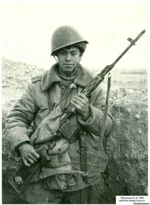 Советские снайперы в Афганистане, 1979 - 1989 гг. (28 фото)