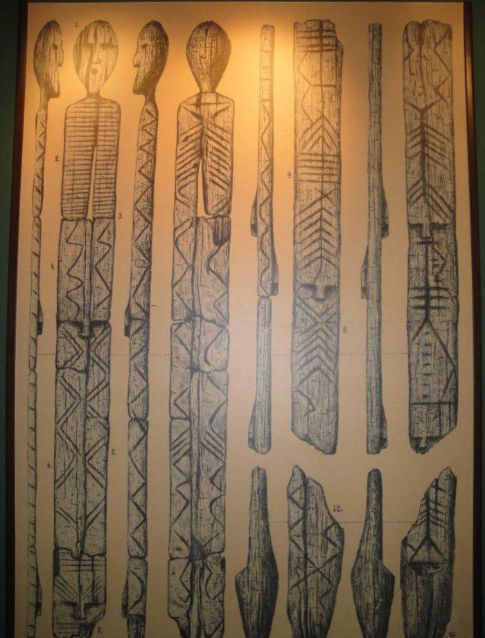 Самая древняя деревянная скульптура (6 фото)