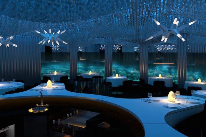 Подводный ресторан «Per Aquum» (5 фото)