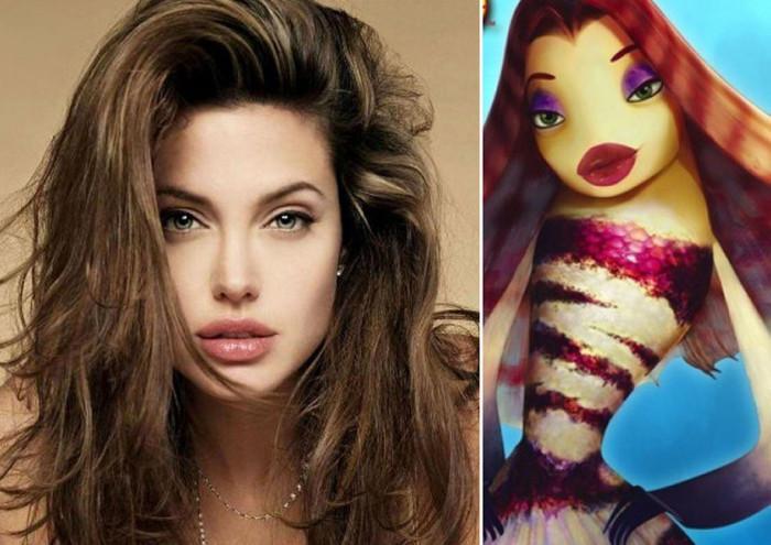 Актеры, которые похожи на своих героев из мультфильмов (20 фото)