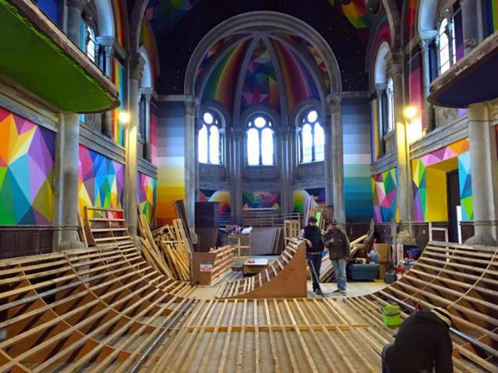 100-летнюю церковь переоборудовали в скейт-парк (11 фото)