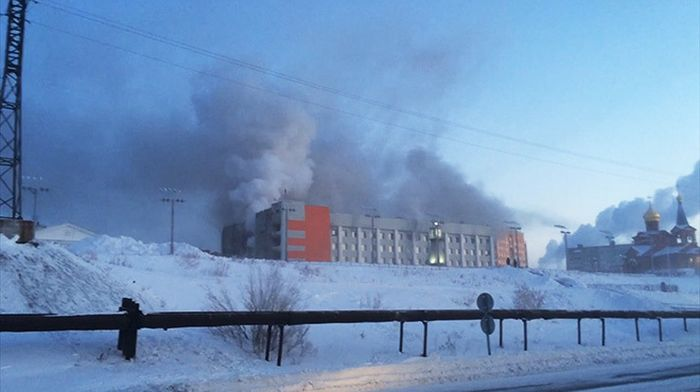 Пенсионер устроил пожар в здании мэрии, в котором погибли три человека (5 фото)