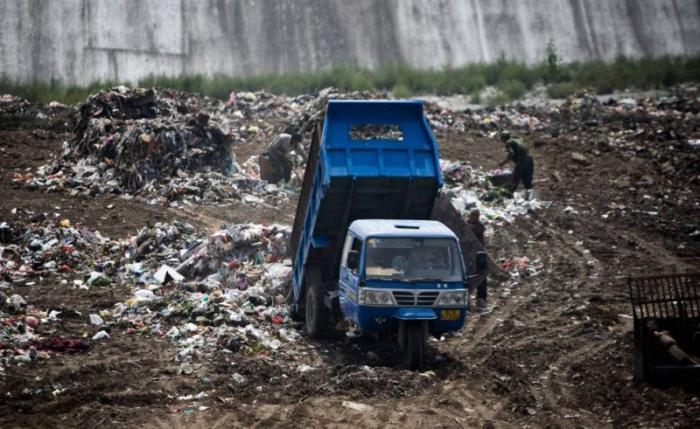 Проблема мусора в Китае (11 фото)