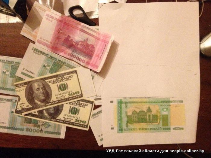 Учительница рассчиталась купюрой, напечатанной на принтере (3 фото)