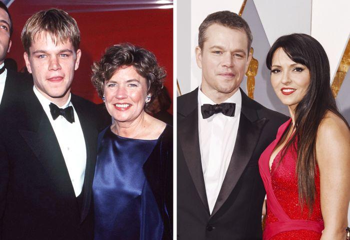 Известные актеры на своей первой церемонии «Оскар» и сейчас (15 фото)