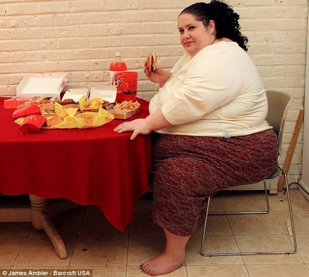 Хочу стать самой толстой (5 фото)