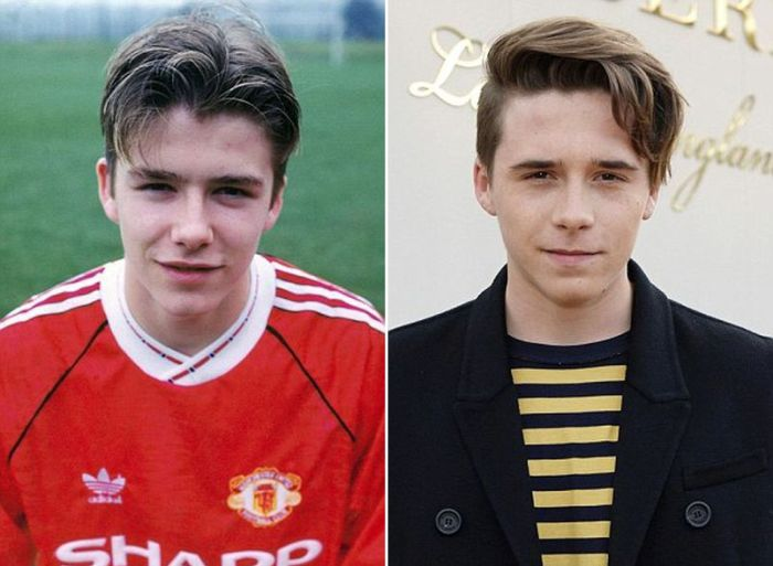 Сыновья, которые очень похожи на своих знаменитых отцов (9 фото)