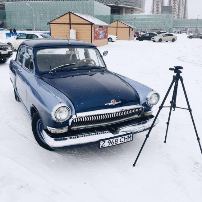 ГАЗ-21 «Волга» 1965 года, получившая вторую жизнь (3 фото)