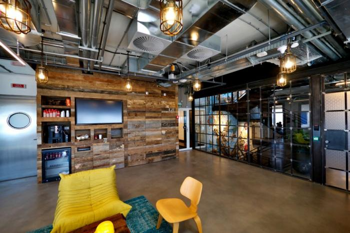 Офис компании Facebook в Израиле (15 фото)