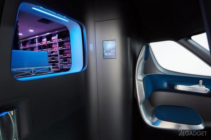 Футуристический курьерский фургон от Mercedes-Benz (14 фото)