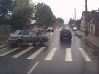 Быстрый пешеход - живой пешеход