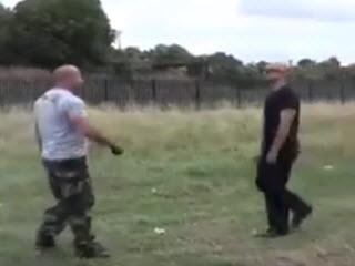 Тренировка полицейских собак