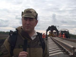 Железная дорога мимо Украины