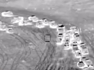 ВВС Ирака накрыли конвой IS
