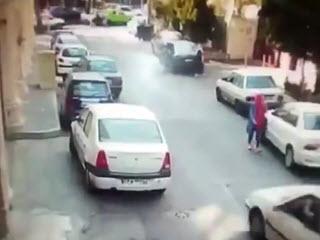 Сумасшедший индийский водитель