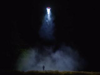 Дрон с 1000W фонарем
