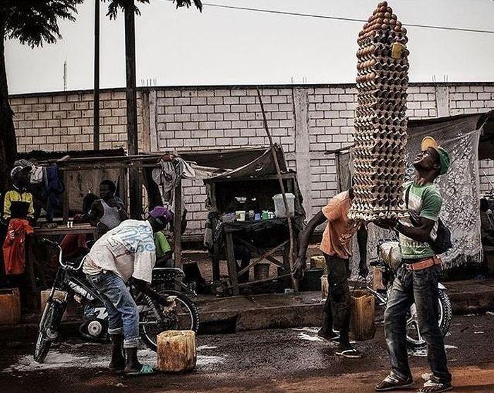 Жизнь граждан Центральноафриканской Республики (21 фото)