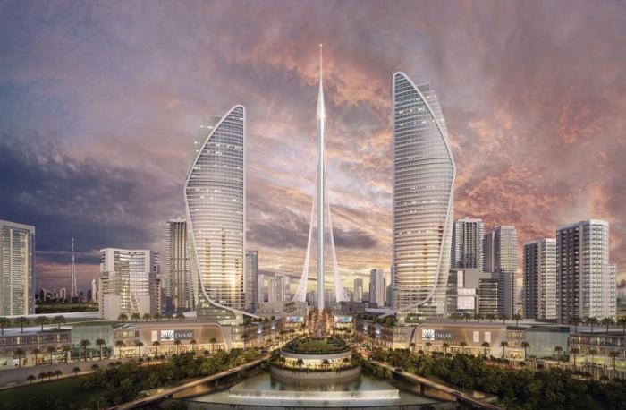 В Дубае началось строительство самой высокой в мире «Башни» (6 фото)